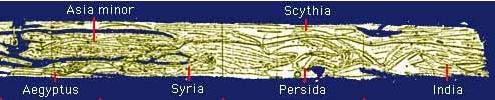 Tabula Peutingeriana seccións IX-XII