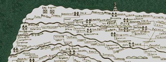 Tabula Peutingeriana Gallaecia