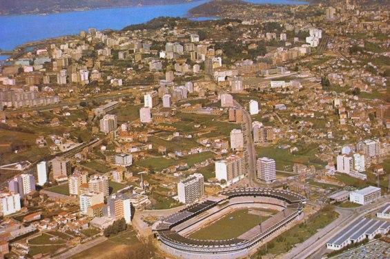 vista de Vigo desde Balaidos