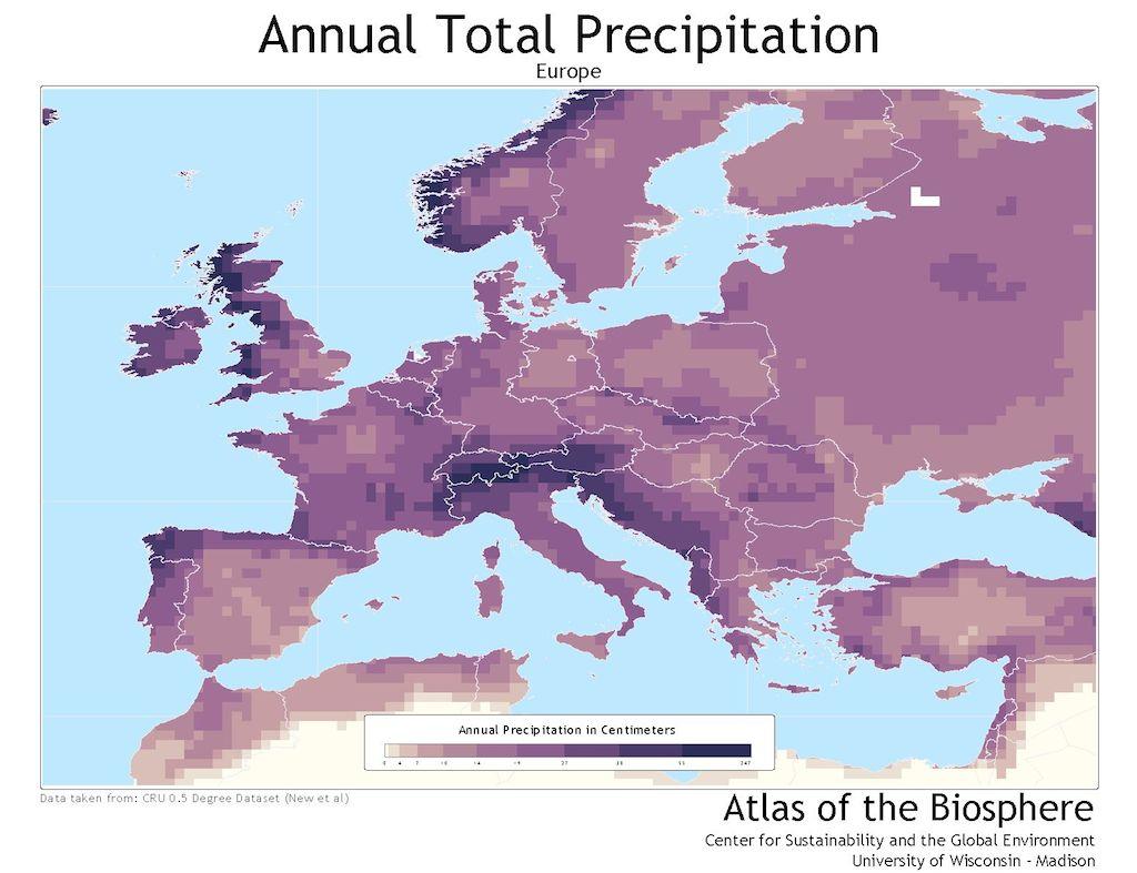 Europe.Annual.Precip
